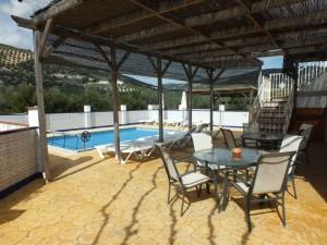 Spanish Holiday Villa Pool Area