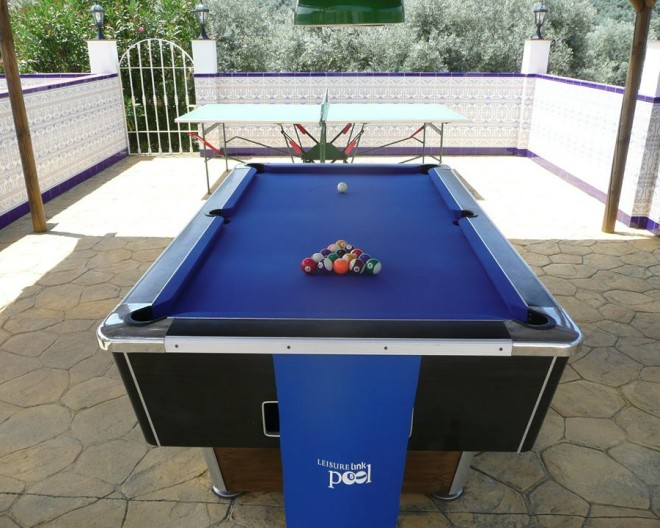 Games Area, including Pool, Table Tennis and Darts