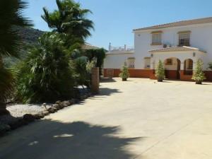 Spanish villa garden