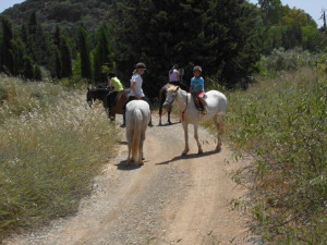 Horse Riding in Iznajar