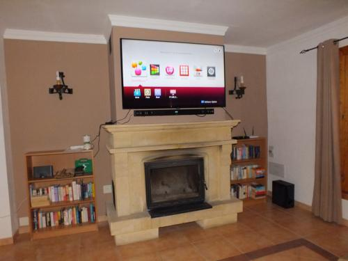 Cinema Room available in family holiday villa Spain