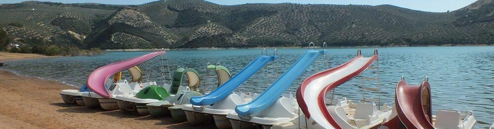 Activities at Lake Iznajar